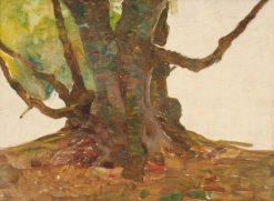 Tree Roots | Benjamin Haughton | Oil Painting