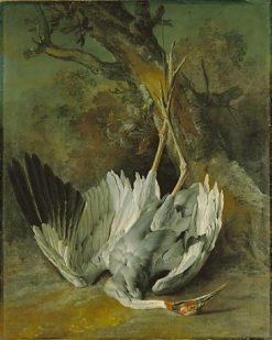 Dead Crane | Jean-Baptiste Oudry | Oil Painting