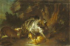 Hyena | Jean-Baptiste Oudry | Oil Painting