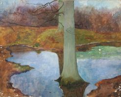 Trees and Water | Benjamin Haughton | Oil Painting