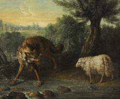 The Wolf and the Lamb | Jean-Baptiste Oudry | Oil Painting
