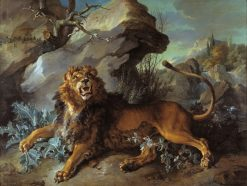 The Lion and the Spider | Jean-Baptiste Oudry | Oil Painting