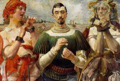 Polish Hamlet | Jacek Malczewski | Oil Painting