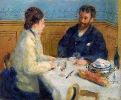 Luncheon (also known as Le Déjeuner) | Pierre Auguste Renoir | Oil Painting