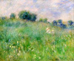 Meadow (also known as La Prairie) | Pierre Auguste Renoir | Oil Painting