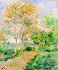 Autumn Landscape (also known as Paysage d'automne) | Pierre Auguste Renoir | Oil Painting