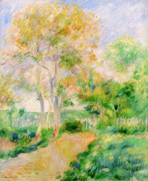 Autumn Landscape (also known as Paysage d'automne)   Pierre Auguste Renoir   Oil Painting
