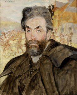 Portrait of Stanis?aw Witkiewicz | Jacek Malczewski | Oil Painting