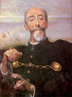 Portrait of Anton Wodzicki | Jacek Malczewski | Oil Painting
