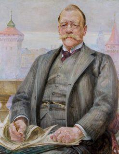 Portrait of Stanis?aw Tomkowicz | Jacek Malczewski | Oil Painting