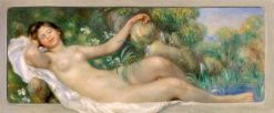 Reclining Nude (also known as La Source) | Pierre Auguste Renoir | Oil Painting