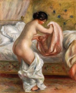 Rising (also known as Le Lever) | Pierre Auguste Renoir | Oil Painting
