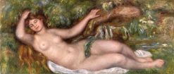 Reclining Nude (also known as Femme Nue couchée) | Pierre Auguste Renoir | Oil Painting