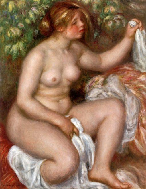 After the Bath (also known as La Sortie du bain) | Pierre Auguste Renoir | Oil Painting