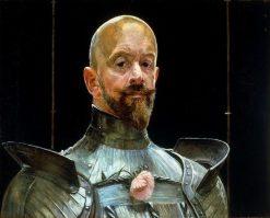 Self-portrait in armor | Jacek Malczewski | Oil Painting
