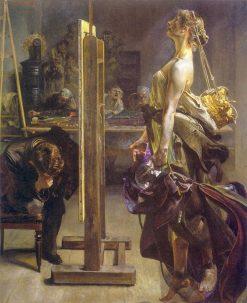 Painter's inspiration | Jacek Malczewski | Oil Painting