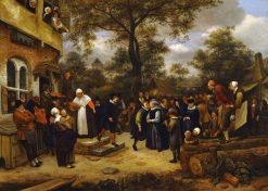 Village Wedding | Jan Havicksz. Steen | Oil Painting
