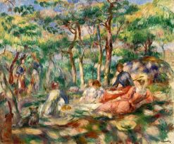 Picnic (also known as Luncheon in the Grass) | Pierre Auguste Renoir | Oil Painting
