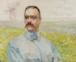 Portrait of brigadier Józef Pi?sudski | Jacek Malczewski | Oil Painting