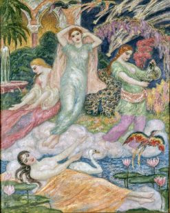 Paradise of Mahomet | Rupert Bunny | Oil Painting