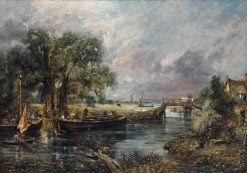 View on the Stour near Dedham | John Constable | Oil Painting