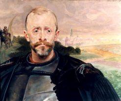 Portrait of Leon Pini?ski | Jacek Malczewski | Oil Painting