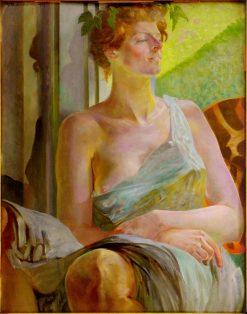 Bacchante (also known as Portrait of Maria Bal) | Jacek Malczewski | Oil Painting