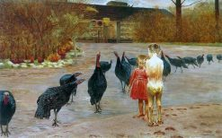 Art in the manor | Jacek Malczewski | Oil Painting