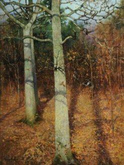 Winter Sunshine | Benjamin Haughton | Oil Painting