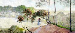 Landscape with rowan trees | Jacek Malczewski | Oil Painting