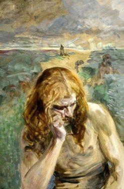 Saint John the Baptist | Jacek Malczewski | Oil Painting