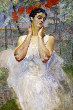 Portrait of a Woman | Jacek Malczewski | Oil Painting