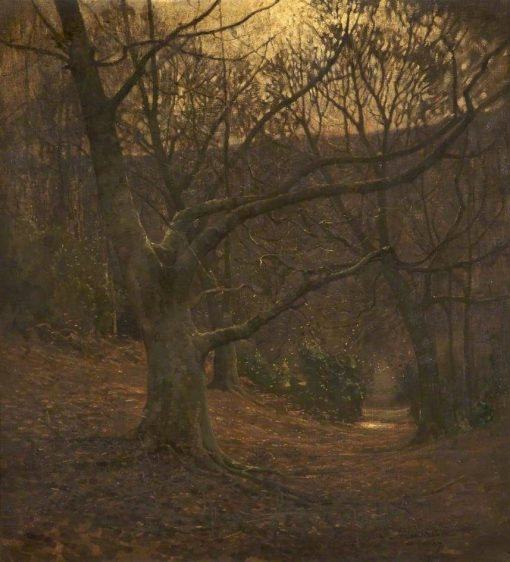 Winter Wonderland | Benjamin Haughton | Oil Painting