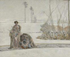Winter Landscape | Jacek Malczewski | Oil Painting
