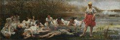 Mermaids | Jacek Malczewski | Oil Painting