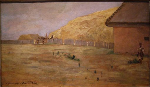 Landscape from Nowo-Sielica   Jacek Malczewski   Oil Painting