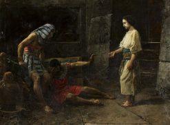 The Dream of Joseph | Mariano Barbasan Lagueruela | Oil Painting