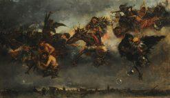 Walpurgis Night | Mariano Barbasan Lagueruela | Oil Painting