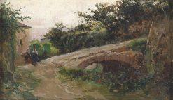Landscape near Assisi | Mariano Barbasan Lagueruela | Oil Painting