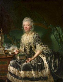 Portrait of Anna Friederike von Wartensleben | Anna Dorothea Therbusch | Oil Painting