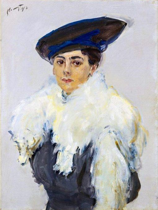 Portrait of Helen Koslowsky-Lewin | Max Slevogt | Oil Painting