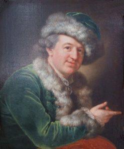 Ernst Friedrich Therbusch | Anna Dorothea Therbusch | Oil Painting