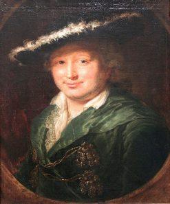 Portrait of the Innkeeper Ernst Friedrich Therbusch