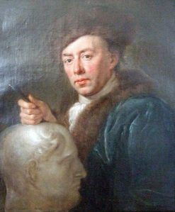 Portrait of Carl Philip Glume | Anna Dorothea Therbusch | Oil Painting
