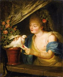The Love Letter | Anna Dorothea Therbusch | Oil Painting