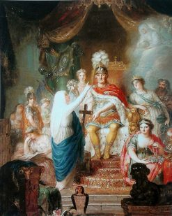 Apotheosis of Prince Augustus Ferdinand of Prussia | Anna Dorothea Therbusch | Oil Painting