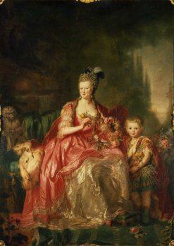 Friederike Luise von Hessen-Darmstadt | Anna Dorothea Therbusch | Oil Painting