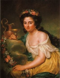 Portrait of Henriette Herz | Anna Dorothea Therbusch | Oil Painting