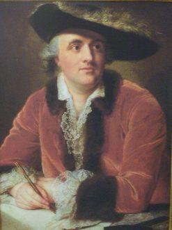 Architect Nicolas de Pigage | Anna Dorothea Therbusch | Oil Painting