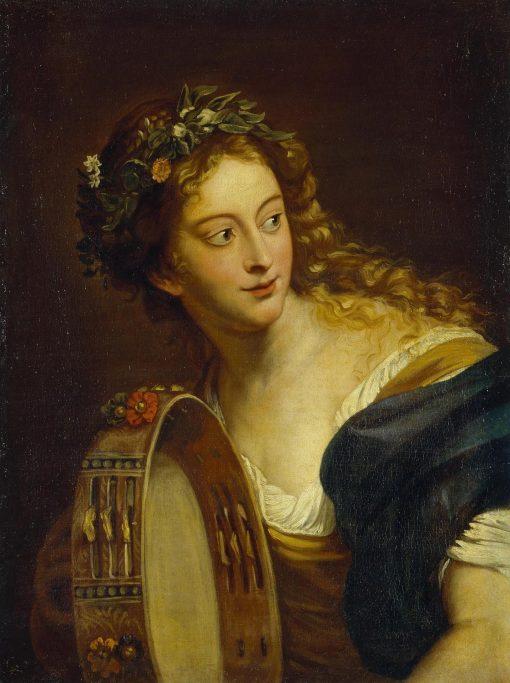 Bacchante | Anna Dorothea Therbusch | Oil Painting